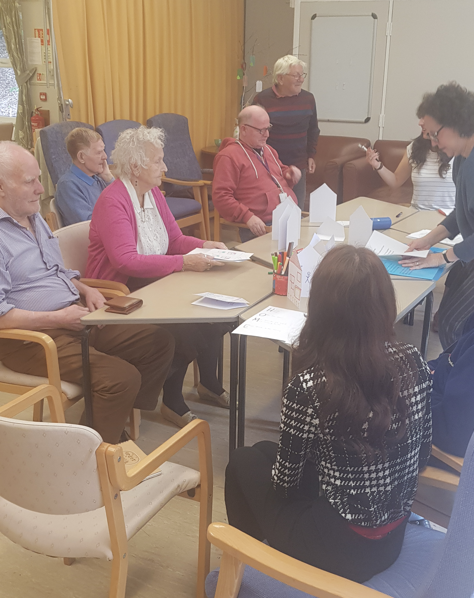 Session at Woodclough Day Centre